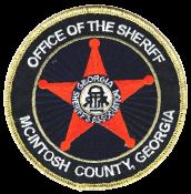 McIntosh County Sheriff's Office Logo